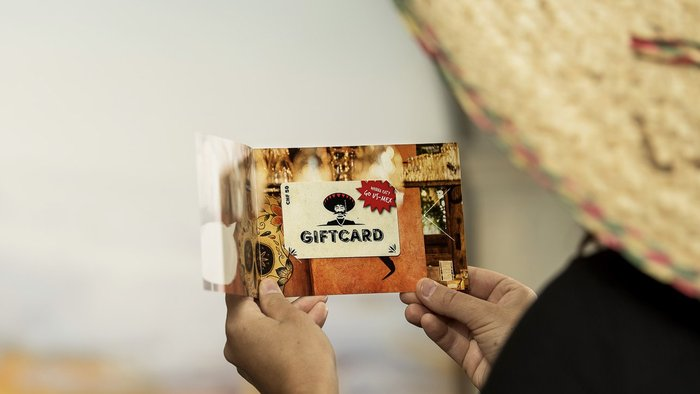 US-MEX Gift card